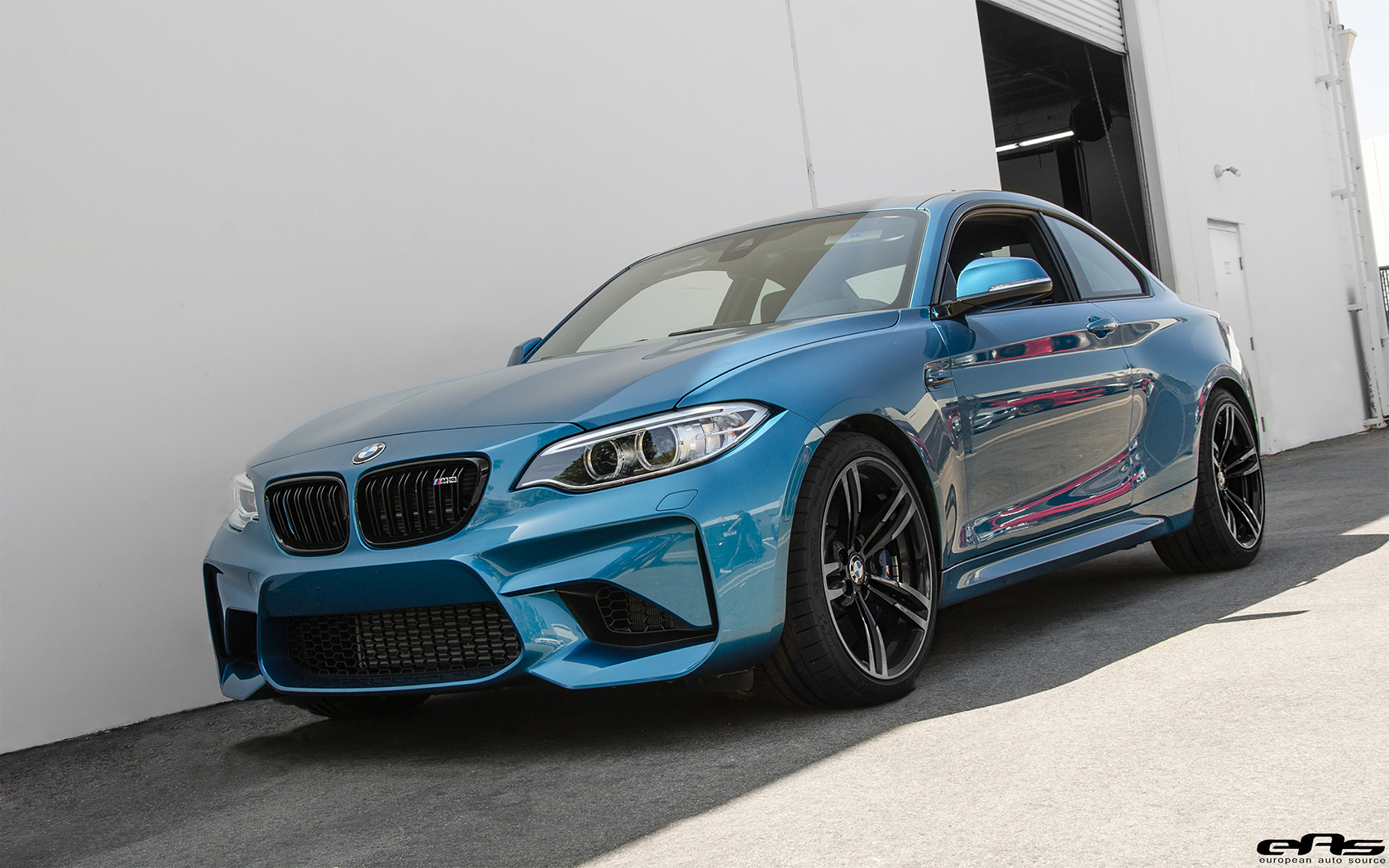 Long Beach Blue Metallic Bmw M2 Gets An M Performance Exhaust