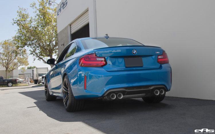 Long Beach Blue Metallic BMW M2 Image 17 750x469