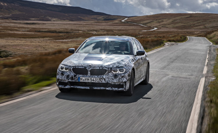 2018 BMW 5 series prototype 108 750x458