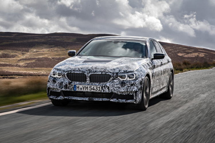 2018 BMW 5 series prototype 109 750x500