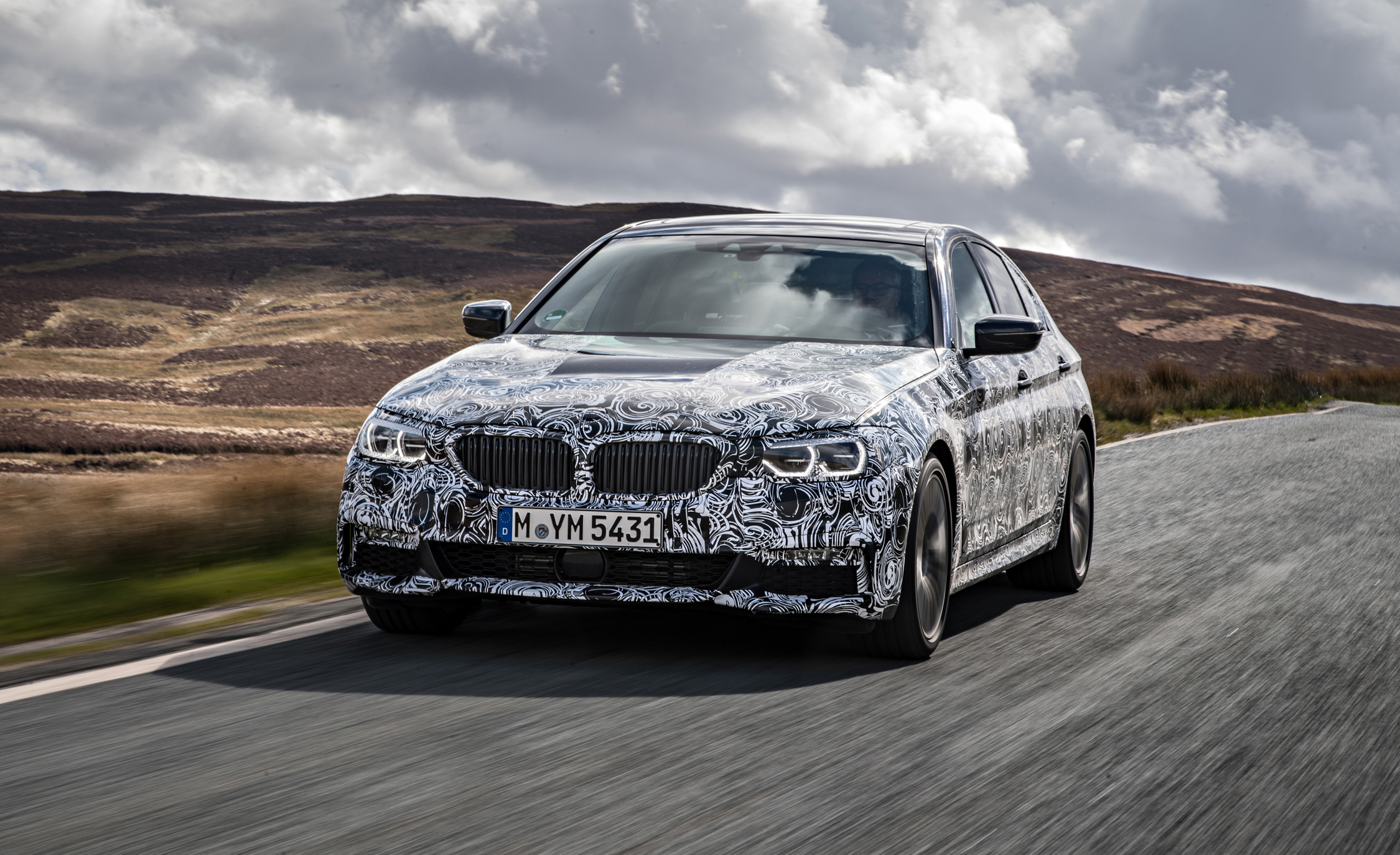 2018 BMW 5 series prototype 109