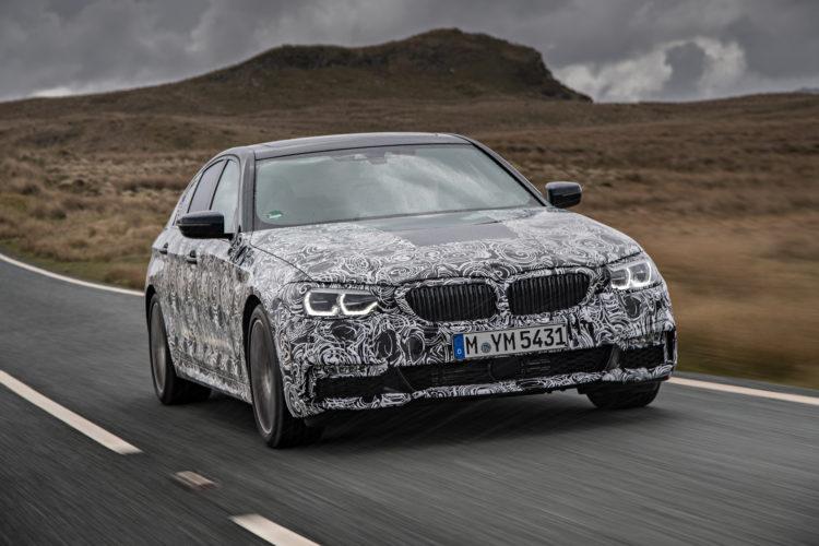 2018 BMW 5 series prototype 119 750x500