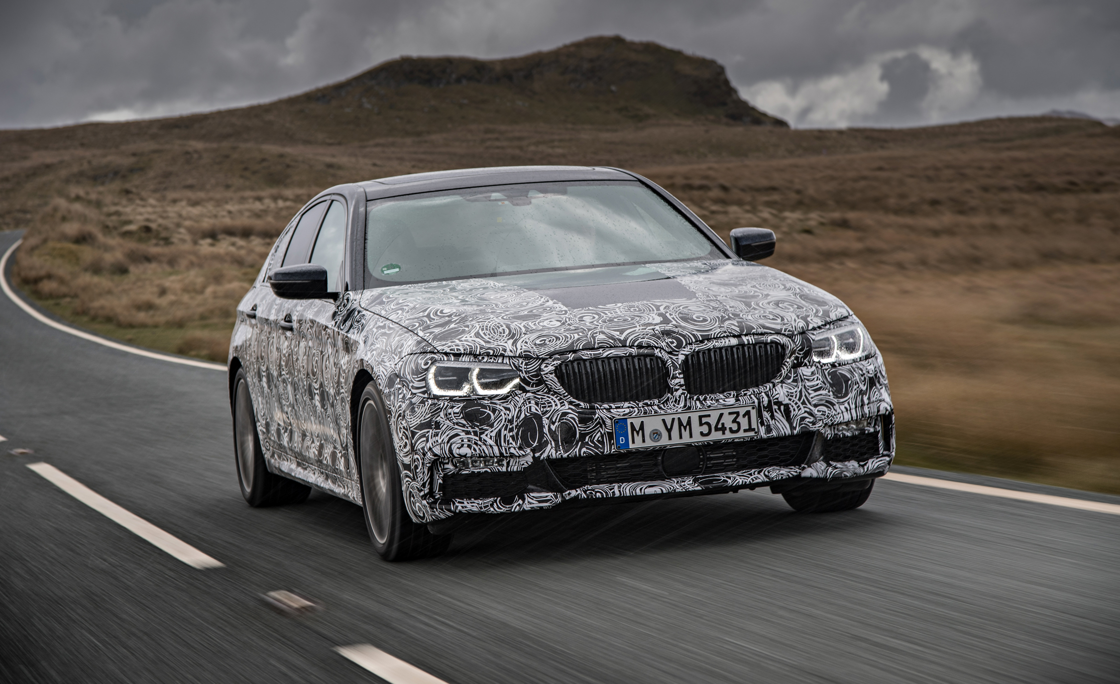 2018 BMW 5 series prototype 119