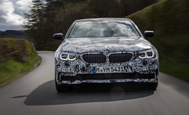 2018 BMW 5 series prototype 129 750x458
