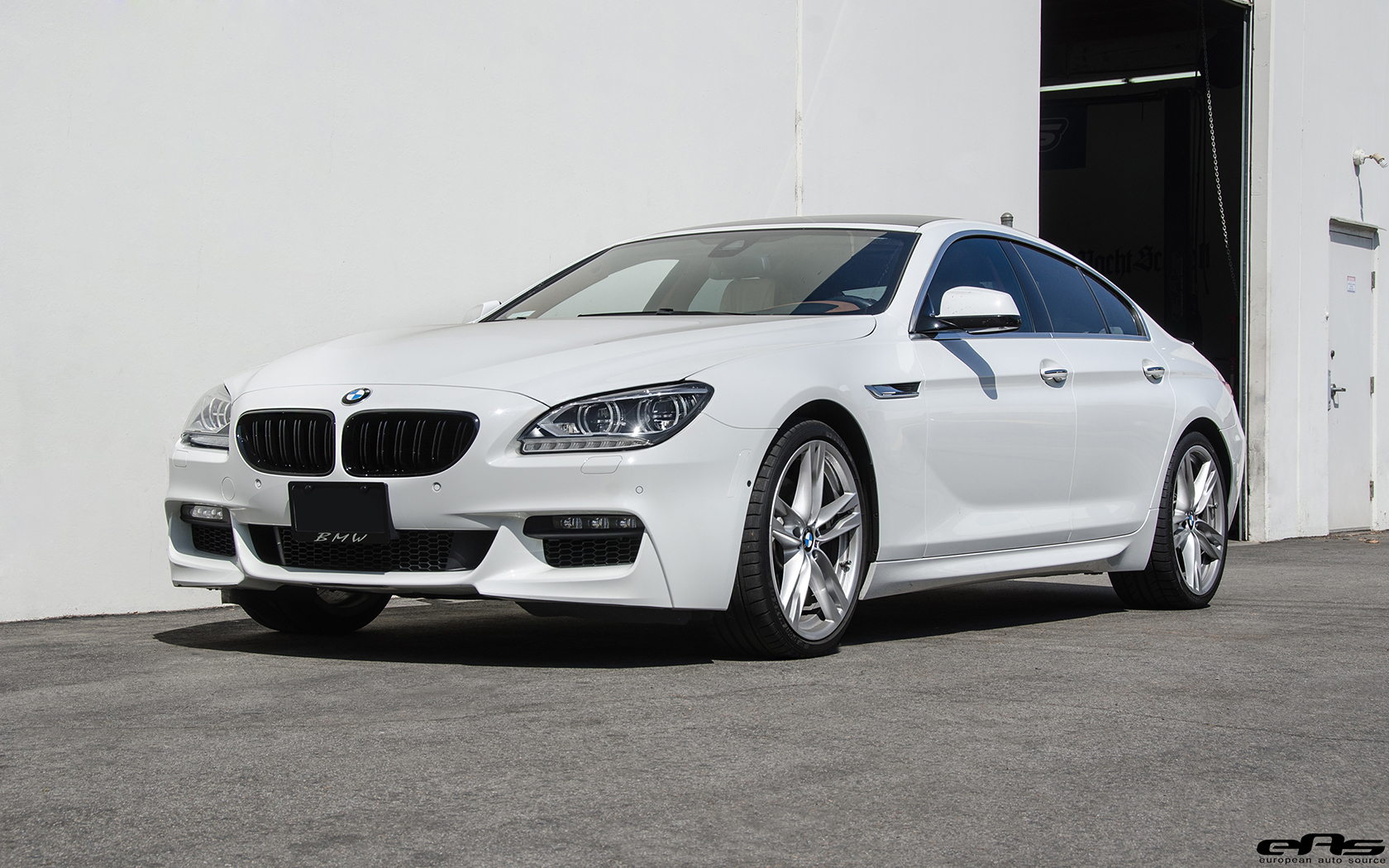Alpine White Bmw 650i Gets Visual Updates
