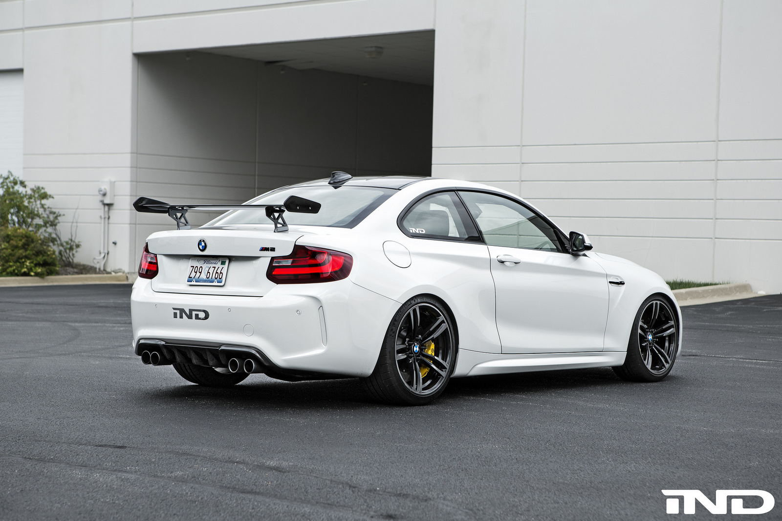 Alpine White Bmw M2 Gets Aftermarket Upgrades