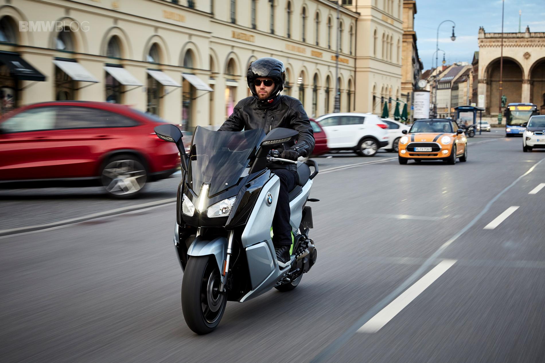 BMW C Evolution Scooter long range 1