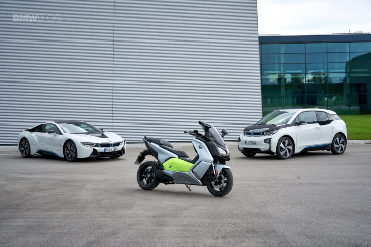 BMW C Evolution Scooter long range 17 750x500