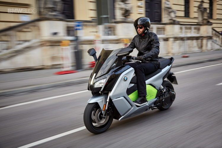 BMW C Evolution Scooter long range 3 750x500