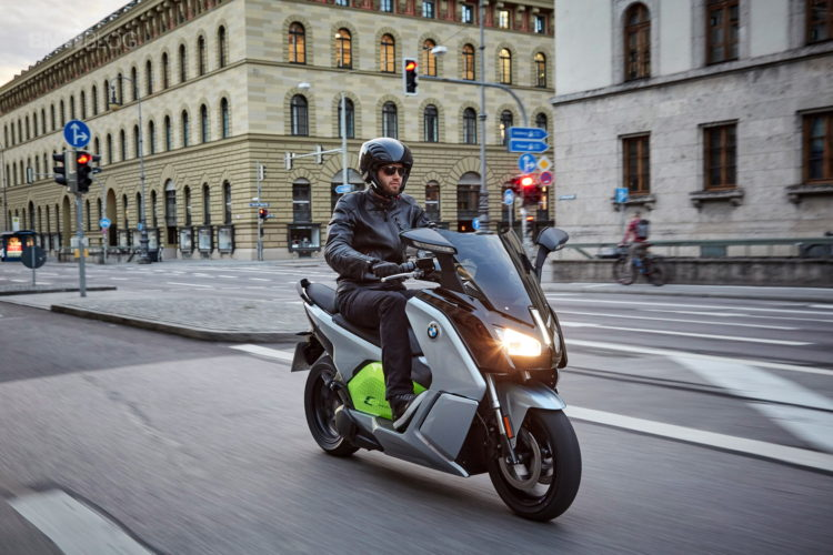BMW C Evolution Scooter long range 5 750x500