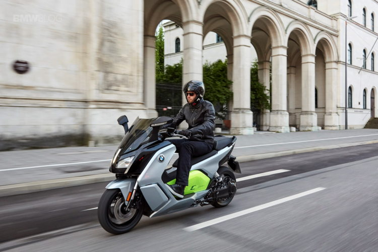 BMW C Evolution Scooter long range 9 750x500