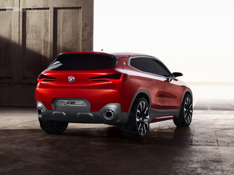 world premiere bmw x2 concept debuts in paris. Black Bedroom Furniture Sets. Home Design Ideas