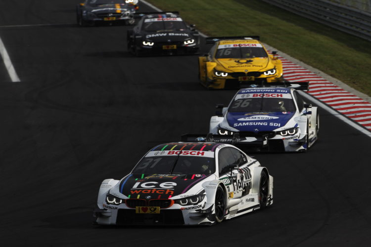 BMW DTM Hungaroring 3 750x500