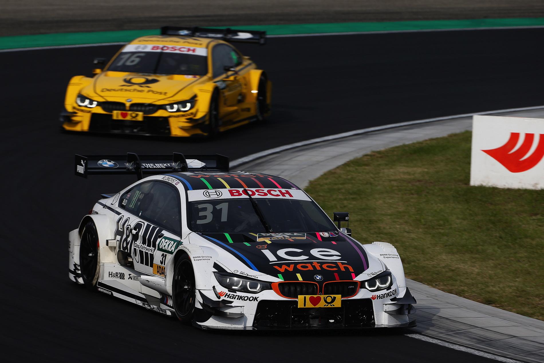 BMW DTM Wittmann Hungaroring 5