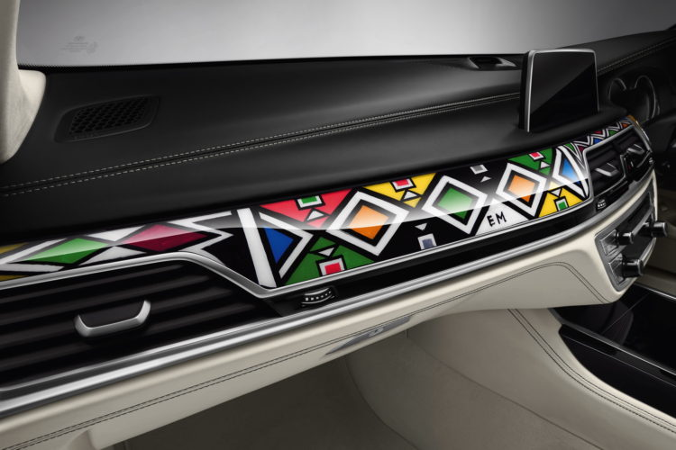 BMW Individual 7 Series by Esther Mahlangu 16 750x500