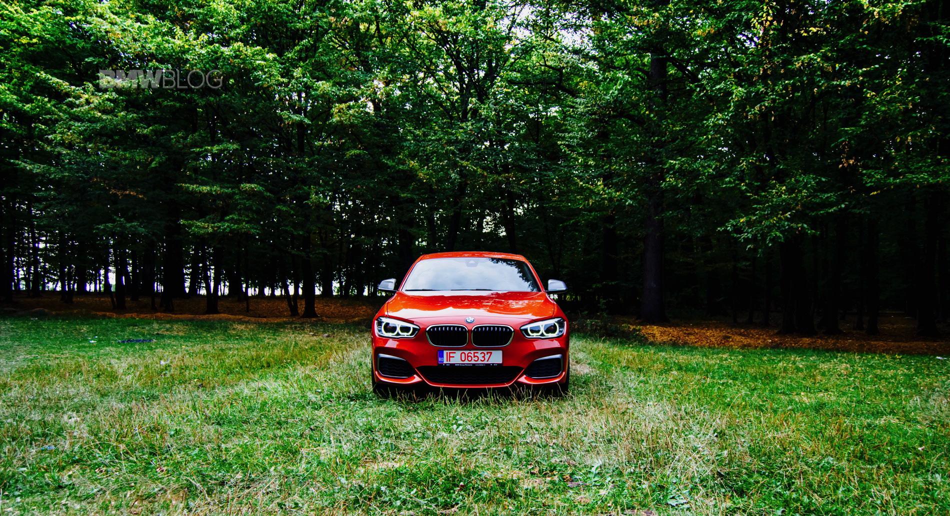 BMW M140i test drive 45