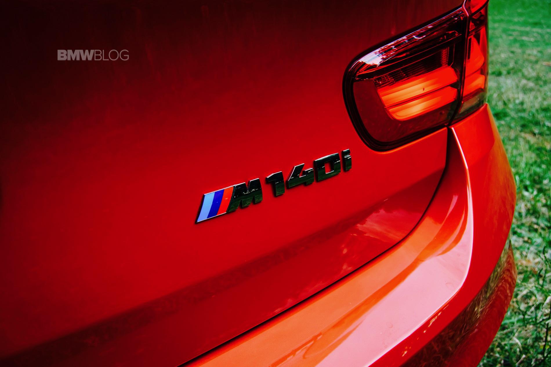 BMW M140i test drive 8