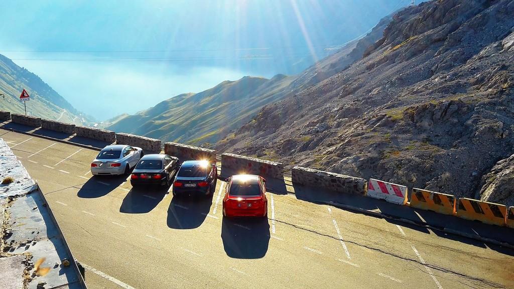 BMW M3 Stelvio Pass