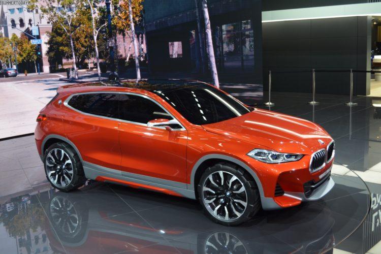 BMW X2 Concept 2016 Paris Live Fotos 01 750x500