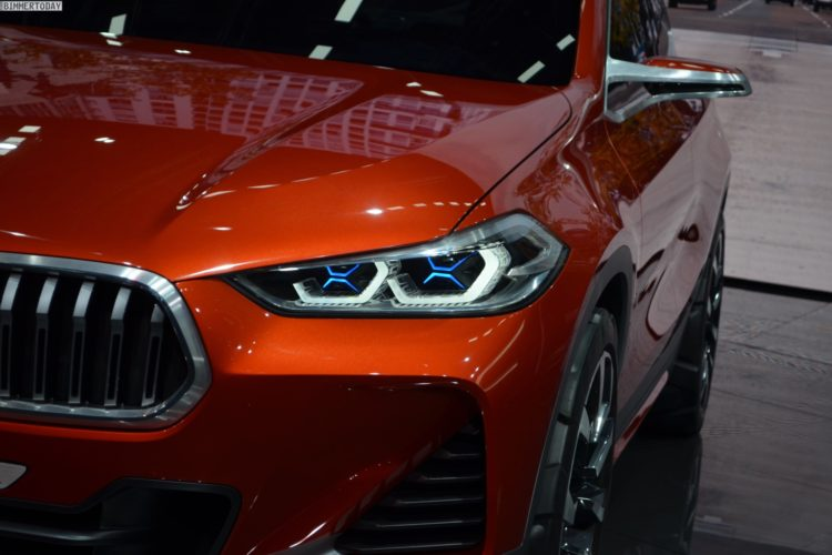 BMW X2 Concept 2016 Paris Live Fotos 09 750x500