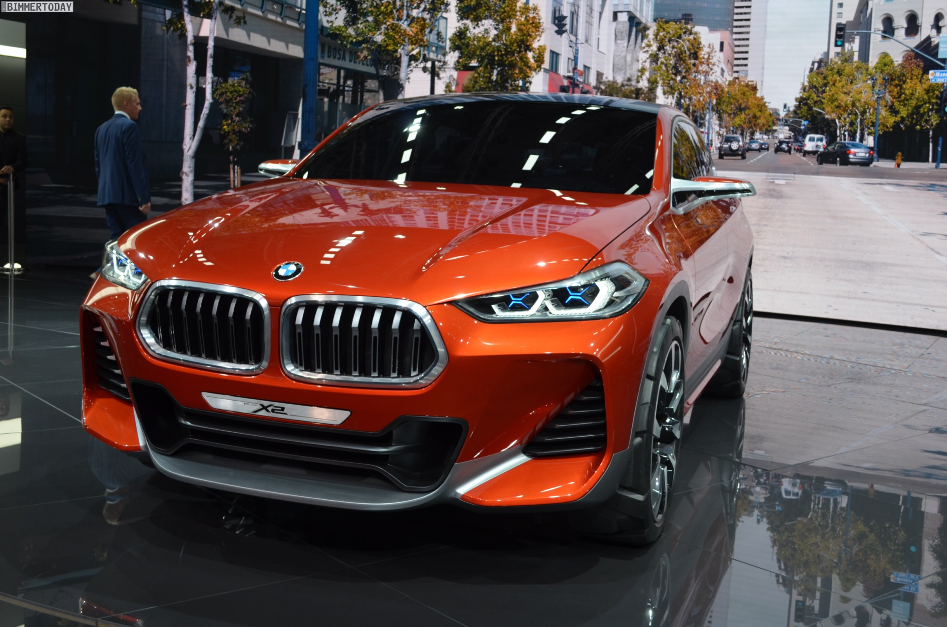 BMW X2 Concept 2016 Paris Live Fotos 10