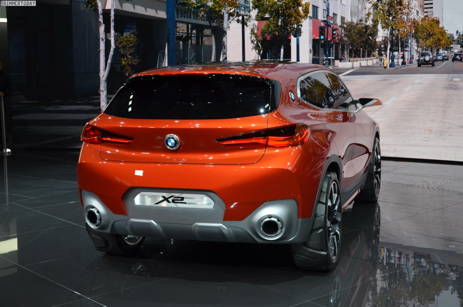 Bmw X2 2017 Price >> Paris 2016: BMW X2 Concept LIVE PHOTOS