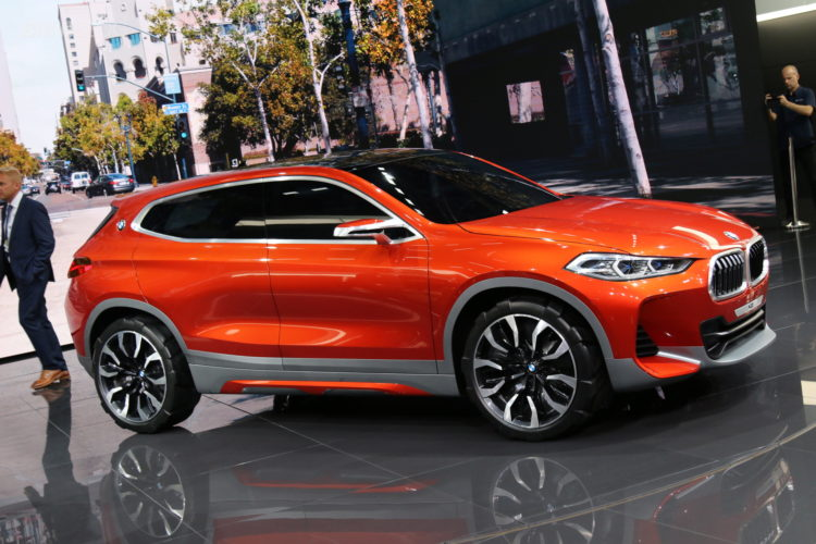 BMW X2 Concept Paris 1 750x500