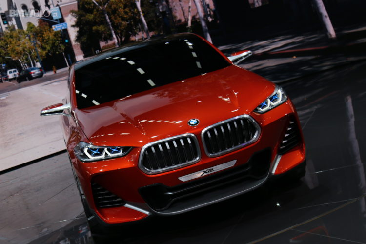 BMW X2 Concept Paris 11 750x500