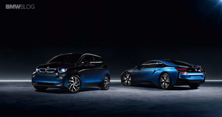 BMW i3 and the BMW i8 Garage Italia CrossFade 1 750x397