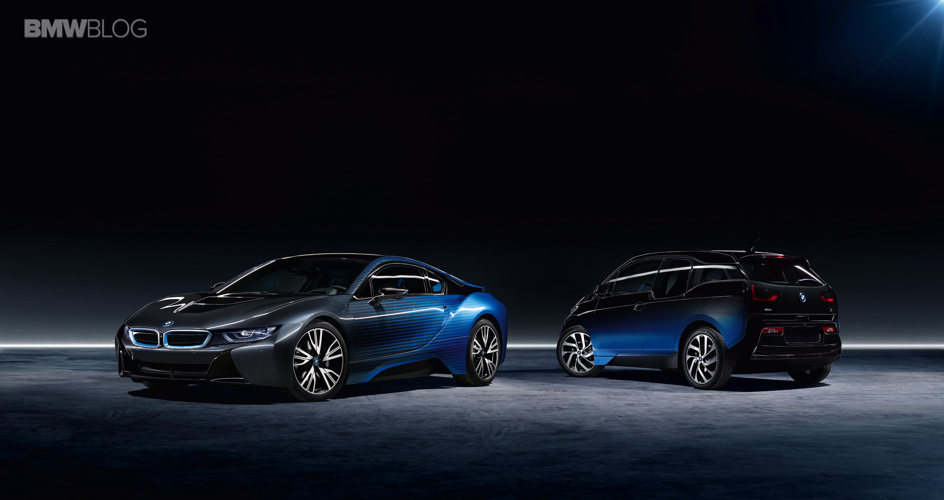 BMW i3 and the BMW i8 Garage Italia CrossFade 2