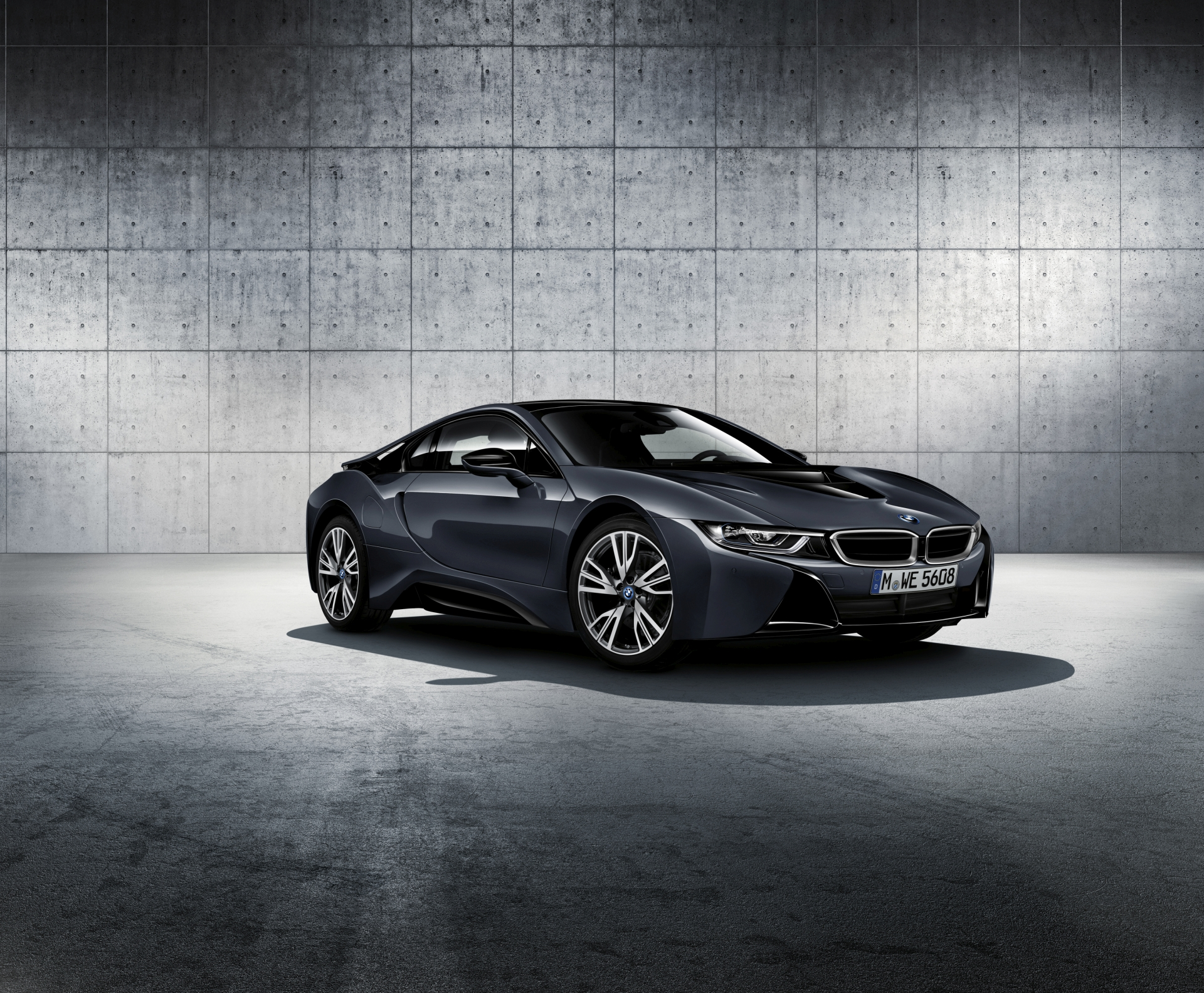 BMW i8 Dark Silver Edition2