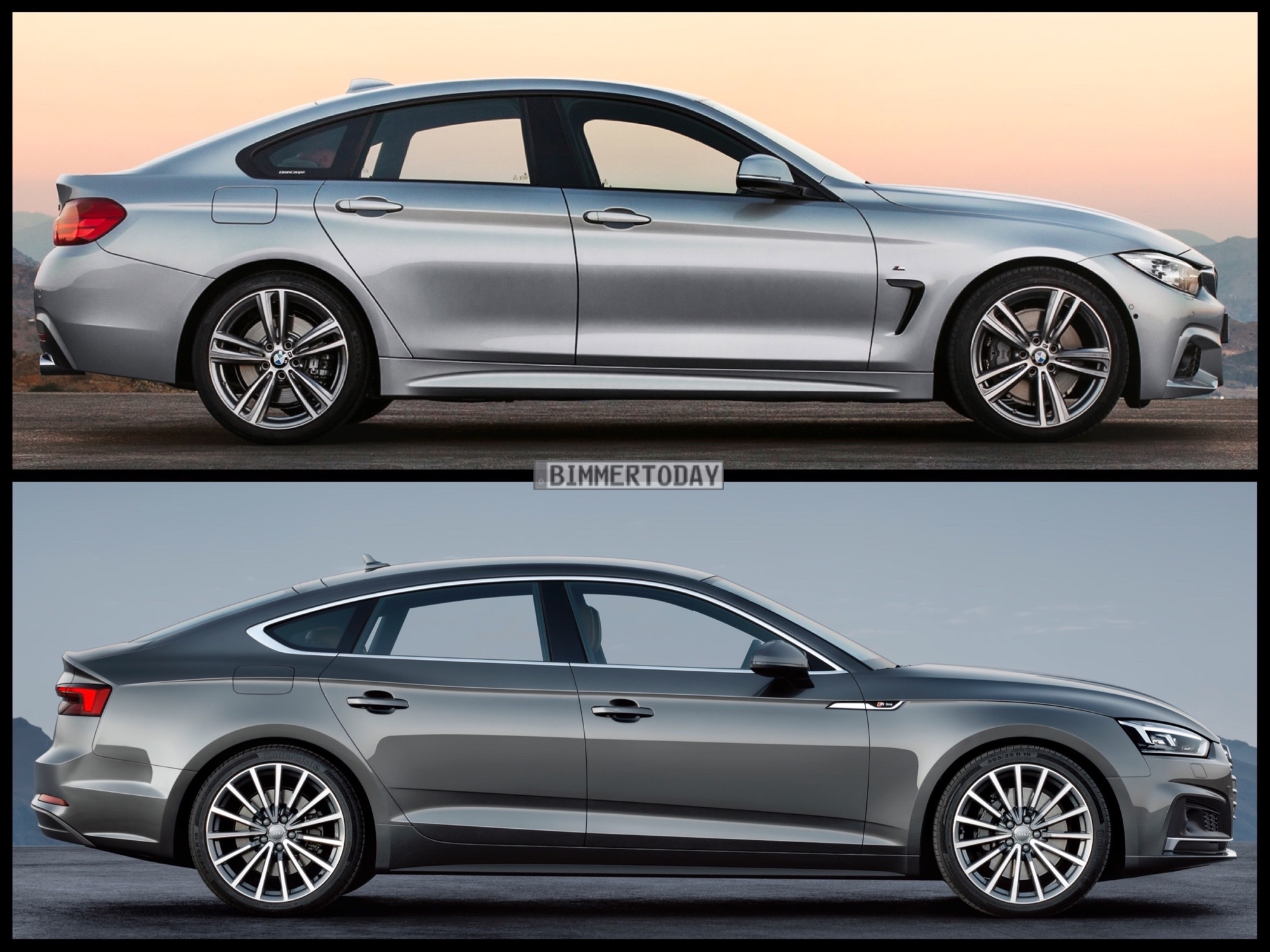 The Audi A5 Sportback Finally Debuts Which Is Better Car But For Now If Both Were Presented To Us With Keys It D Be A Hard Choice Make