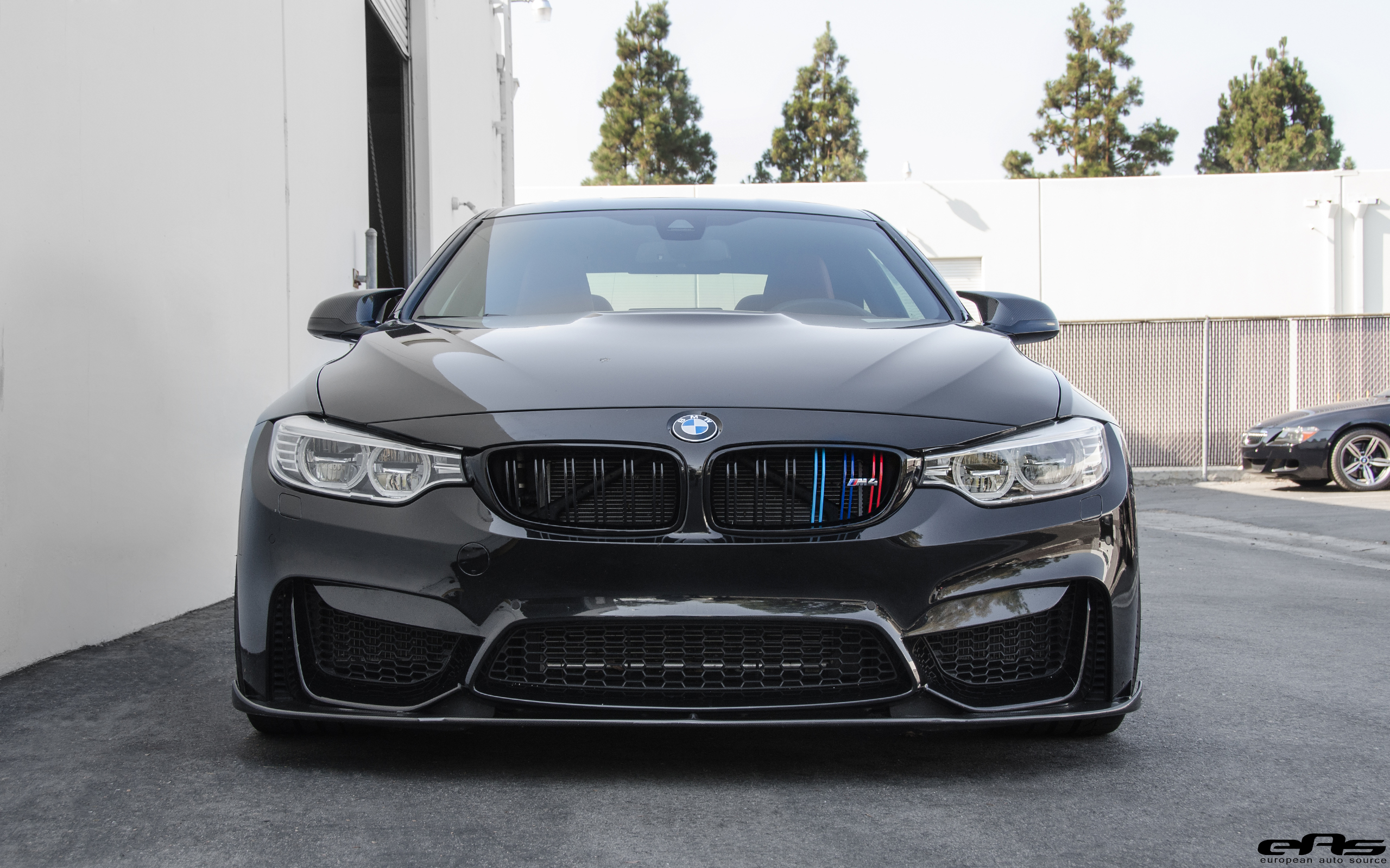 Blacked Out Bmw M4 With Vorsteiner Aero Parts And Custom Wheels