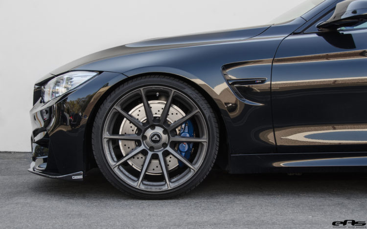Blacked Out BMW M4 With Vorsteiner Aero And Wheels 6 750x469