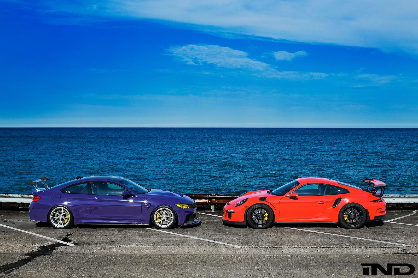 IND BMW M4 ultraviolet 1