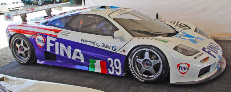 Le Mans Legend The McLaren F1 GTR 750x300