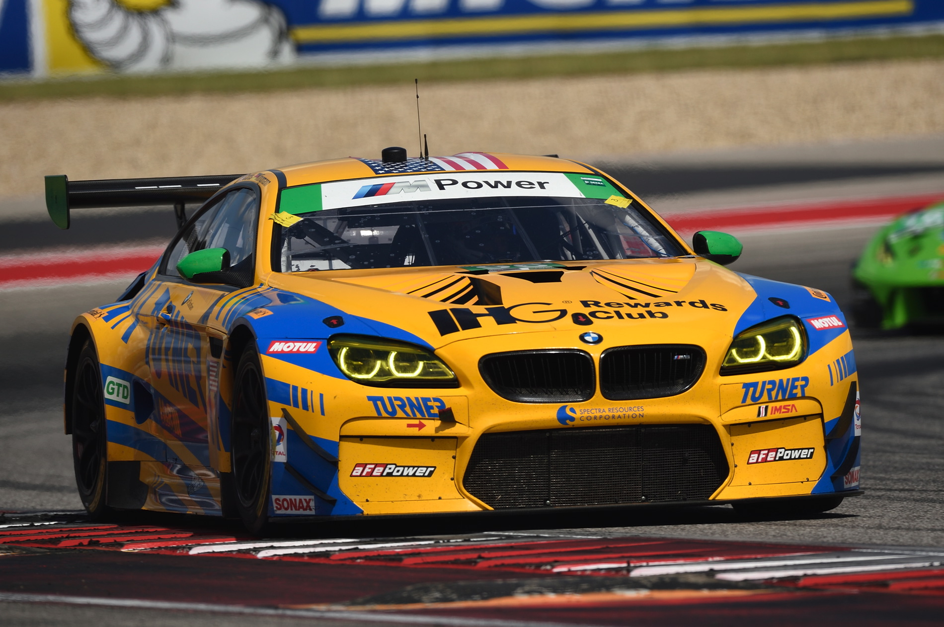Lone Star Le Mans Race BMW M6 GT3 Turner 20