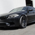 Matte Black BMW F10 M5 Gets Vorsteiner Flow Forged Wheels 10 120x120