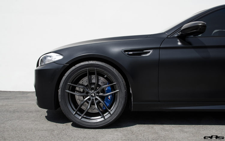 Matte Black BMW F10 M5 Gets Vorsteiner Flow Forged Wheels 8 750x469