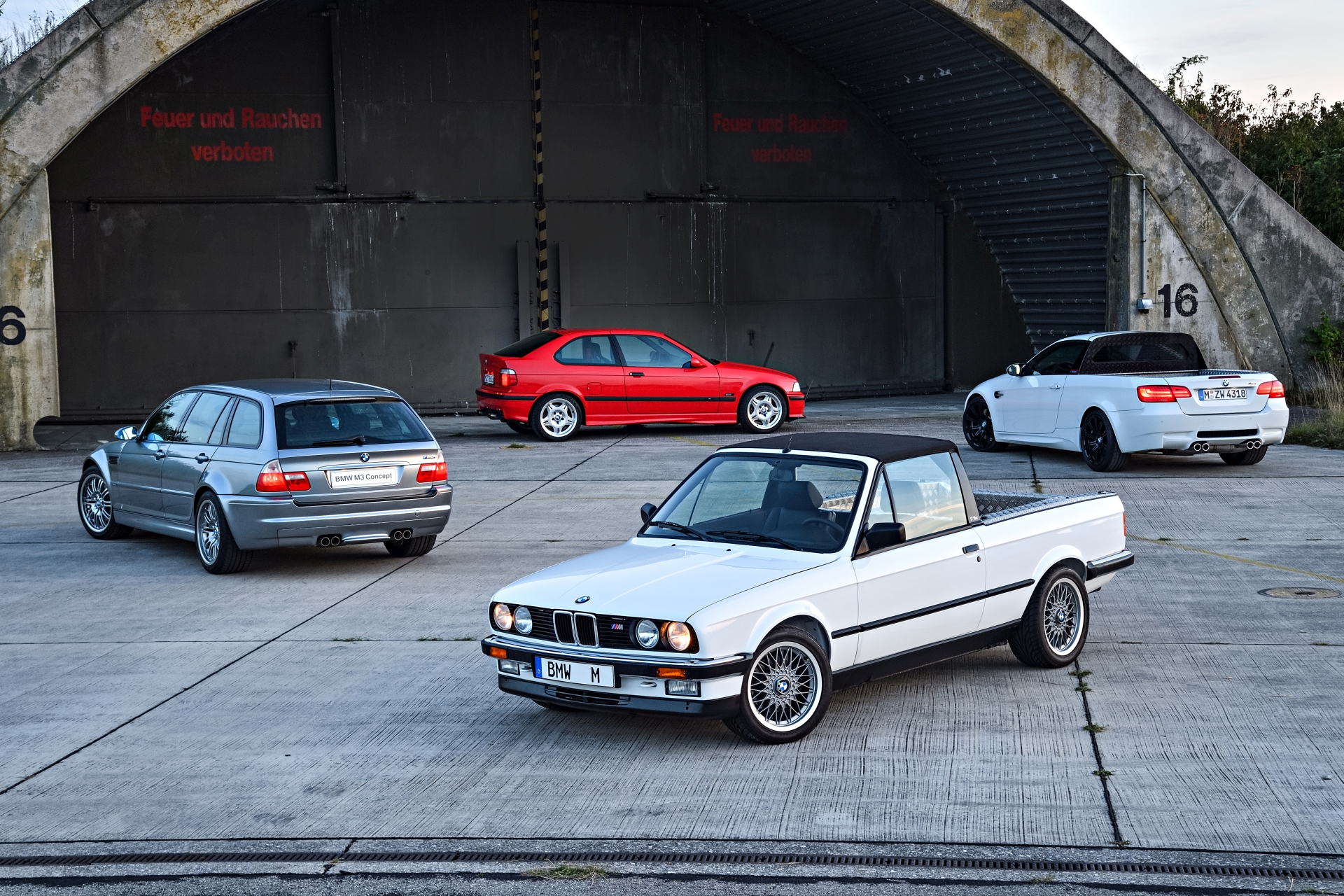 Secret BMW M3128
