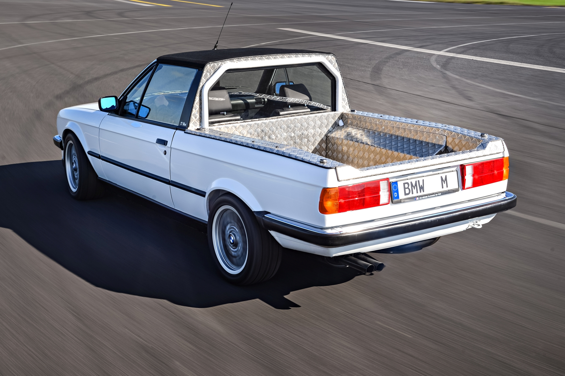Bmw Actually Built Two M3 Pickup Trucks