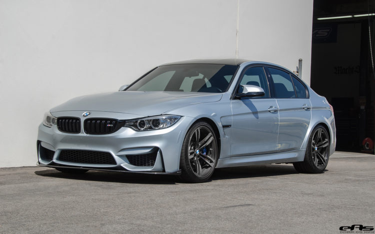 Silverstone Metallic BMW F80 M3 Gets Low Clean Image 4 750x469