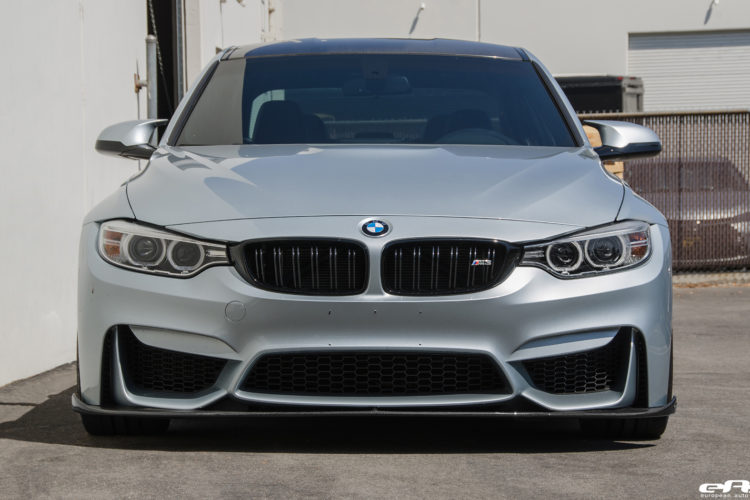 Silverstone Metallic BMW F80 M3 Gets Low Clean Image 6 750x500
