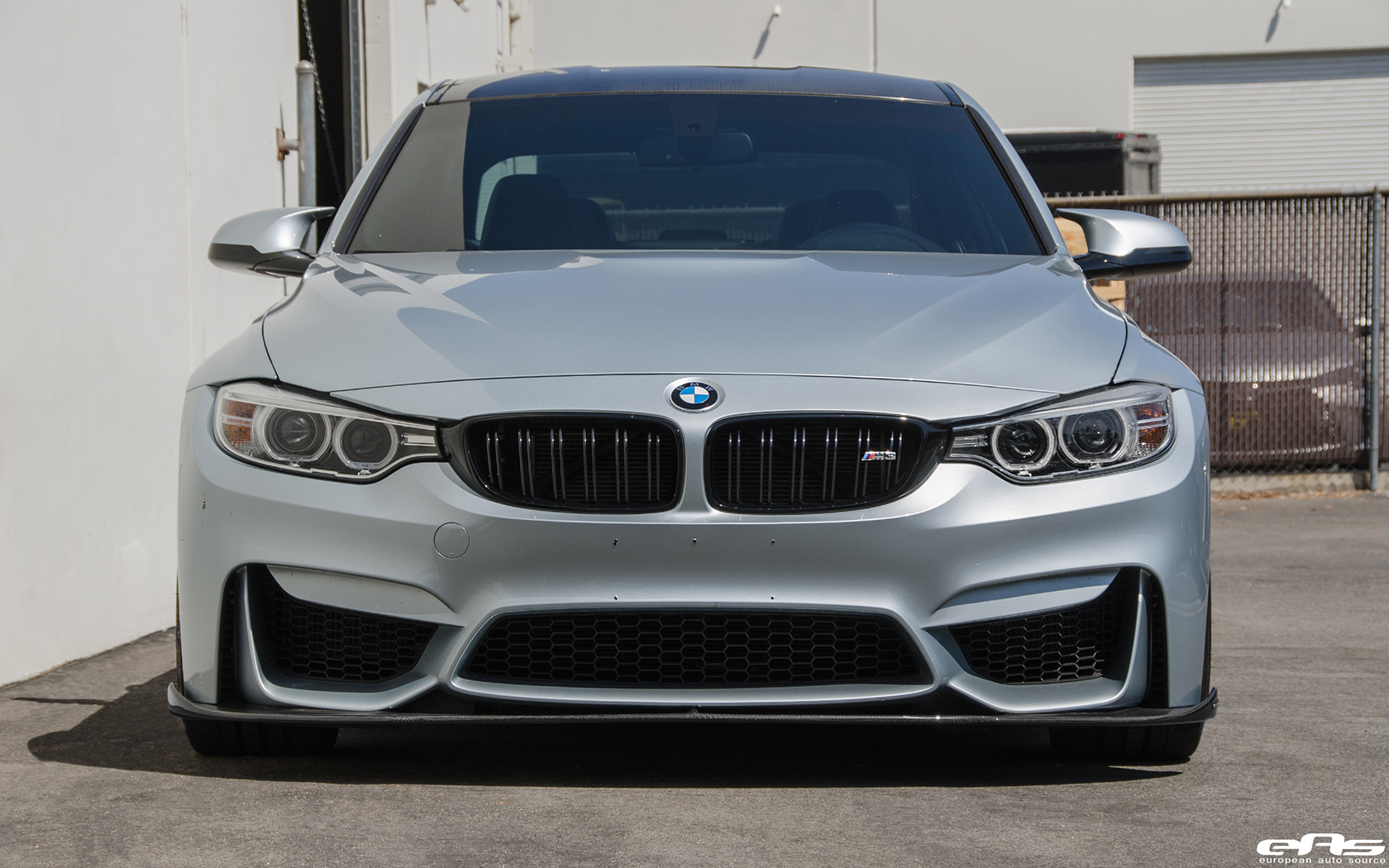 Silverstone Metallic BMW F80 M3 Gets Low Clean Image 6