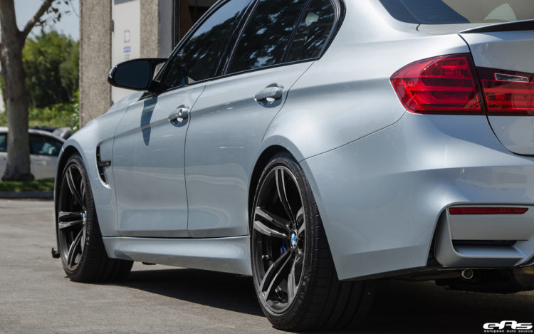 Silverstone Metallic BMW F80 M3 Gets Low Clean Image 8 750x469