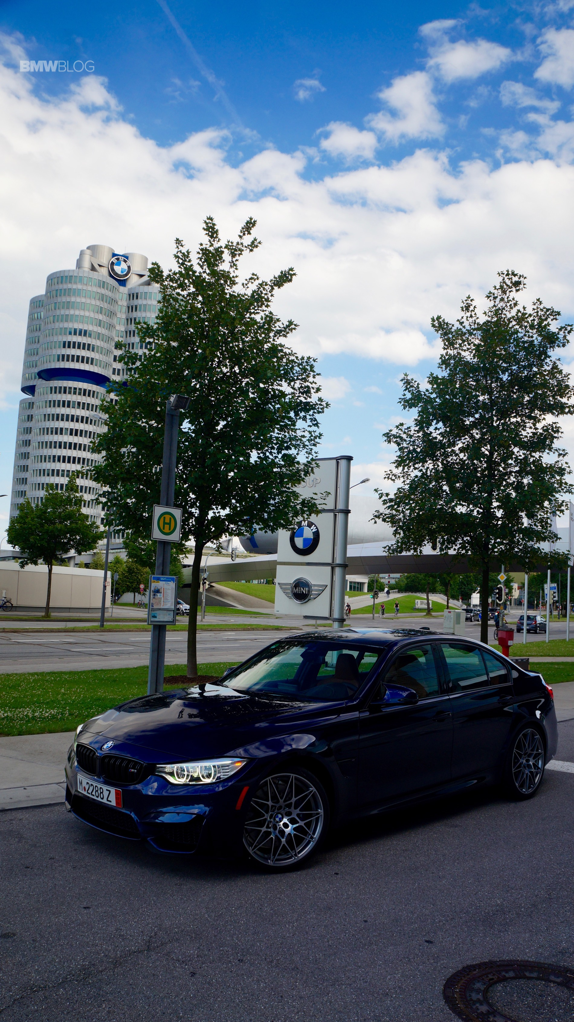 Tanzanite Blue BMW M3 European Delivery 20