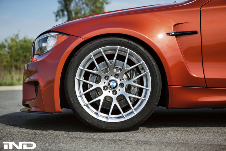 Valencia Orange BMW 1M Tuned By IND Distribution Image 10 750x500