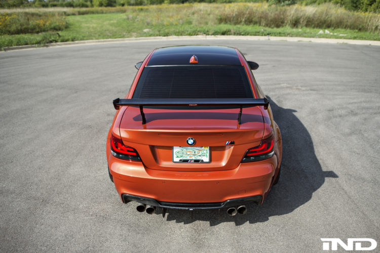 Valencia Orange BMW 1M Tuned By IND Distribution Image 13