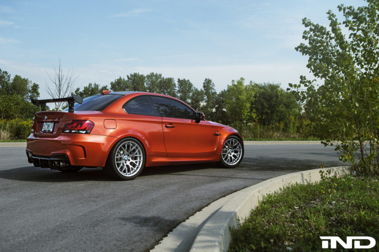 Valencia Orange BMW 1M Tuned By IND Distribution Image 4 750x500