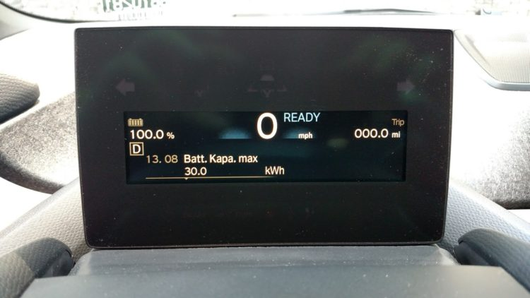 "While the ""Batt.Kapa.Max"" isn't an exact measurement of the available capacity, but it is very close. Close enough to prove there's much more than the 27 kWh that BMW claims is available."